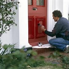 how to paint the front door red paint front door spurinteractive com