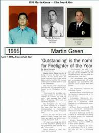 fundraiser for anel green by tucson firefighters association