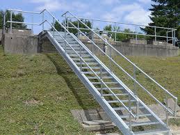 Galvanised Handrail Staircases L U0026w Engineering Dunmow Essex