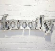metal wall letters home decor metal letters home decor unusual idea initial wall in conjunction
