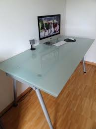 ikea reception desk ideas frosted glass desk ikea 392 within frosted glass desk ideas