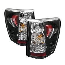 jeep grand cherokee led tail lights spyder auto jeep grand cherokee 99 04 led tail lights version 2