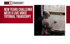 Challenge Tutorial 2018 New Year S Challenge Week 5 Live Tutorial Transcript