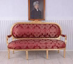 canape baroque canape baroque style louis xvi sofa meridienne en bois hetre