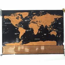home decor drop shipping drop shipping scratch off the world map black for home decoration