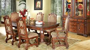 carpathian cherry rectangle 7 pc dining room dining room sets