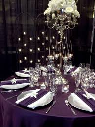 eggplant colored table linens 25 best eggplant and silver wedding ideas for jennifer geoff