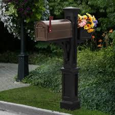 decorative mailbox posts mailboxtime