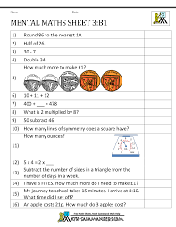 math 3 worksheets mental maths year 3 worksheetssubtraction with
