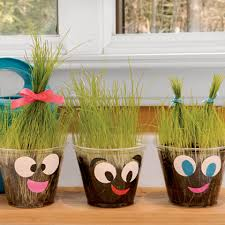 Gardening Crafts For Kids - plant pals this would be fun to do for a plant unit grow one