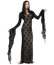 womens costumes lace morticia womens costume women costume