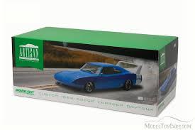 1969 dodge charger custom custom 1969 dodge charger daytona blue w white greenlight