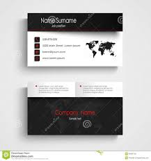 modern light red business card template stock vector image 51334184