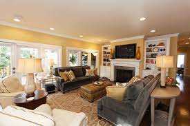 Blue And Gold Home Decor Likeable Grey And Gold Living Room Remodel New Furnishings At