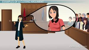 Example Of Video Resume by Closing Argument Outline Themes U0026 Example Video U0026 Lesson