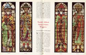 stained glass window history information bulletin world u0027s oldest stained glass windows