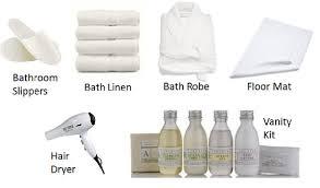 Vanity Supplies Hotel Housekeeping Guest Supplies
