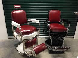 restored koken barber chairs from custom barber chairs atlanta
