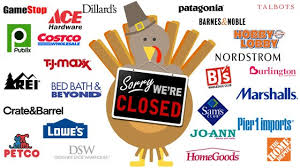 stores that will be closed on thanksgiving day 2016