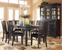 Black Wood Dining Room Sets Fine Dining Room Furniture Houzz - Black dining room table