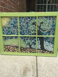 Upcycling Old Windows - how to make a marble mosaic on an old window frame hometalk