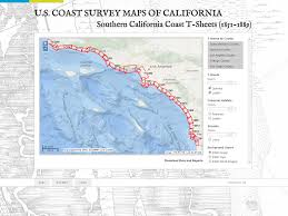 Map Of The Coast Of California Ventura County Historical Ecology Study San Francisco Estuary
