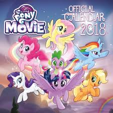 mlp the movie book update 11 new books mlp merch my little pony the movie official 2018 calendar square wall format
