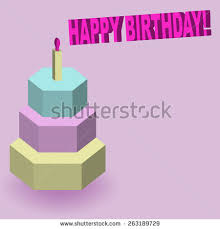 happy birthday pixel art cake art stock vector 596681558