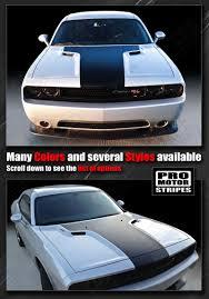 Dodge Challenger Decals - dodge challenger image dodge challenger hood decals