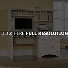 entrancing best home office computer desk design with white wooden