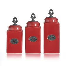 28 ceramic kitchen canister set red ceramic kitchen ceramic kitchen canister set red red 3 piece canister set with metal finials
