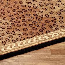 Leopard Runner Rug Leopard Area Rugs