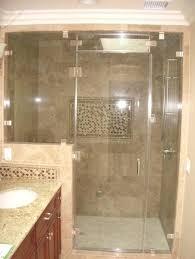 bathroom shower doors ideas tile showers with glass doors modern glass tile bathroom shower 8