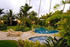 Backyard Landscapes Ideas Tropical Backyard Landscaping Ideas Large And Beautiful Photos