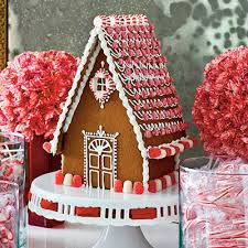 make it merry bright white gingerbread house house trim and