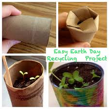 kindergarten is crazy fun easy earth day planting recycling