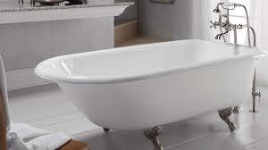 New Waves Bathtub Traditional Style Cast Iron Clawfoot Bathtubs