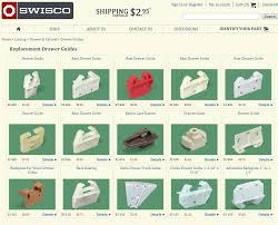 dresser drawer slide parts bestdressers 2017