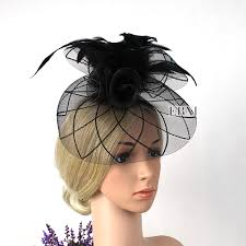 fascinators for hair 100 brand new vintage black church hat with veil fascinator derby