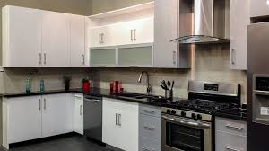 painted white flat panel kitchen cabinets high gloss white flat slab panel cabinets