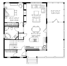 one bedroom cottage plans amazing one bedroom house plans 1 print this floor plan print all