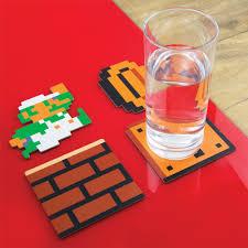 super mario bros coasters collectibles gamestop