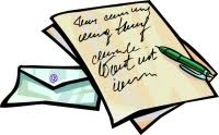 written letter clipart cliparts and others art inspiration