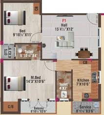900 Sq Ft Apartment Floor Plan 900 Sq Ft 2 Bhk 2t Apartment For Sale In Av Constructions Kamalam