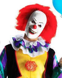 it clown halloween mask pennywise halloween costume walmart com