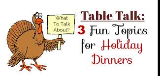 thanksgiving table topics spa flops