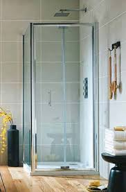 900mm Shower Door Shield Semi Frameless Bifold Shower Door 760 900mm