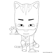 print pj masks ready fight coloring pages colouring pages