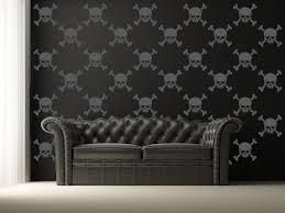 wall mural skulls stencils home design lover the adorable of wall mural skulls stencils