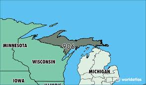 area code map of michigan where is area code 906 map of area code 906 marquette mi area